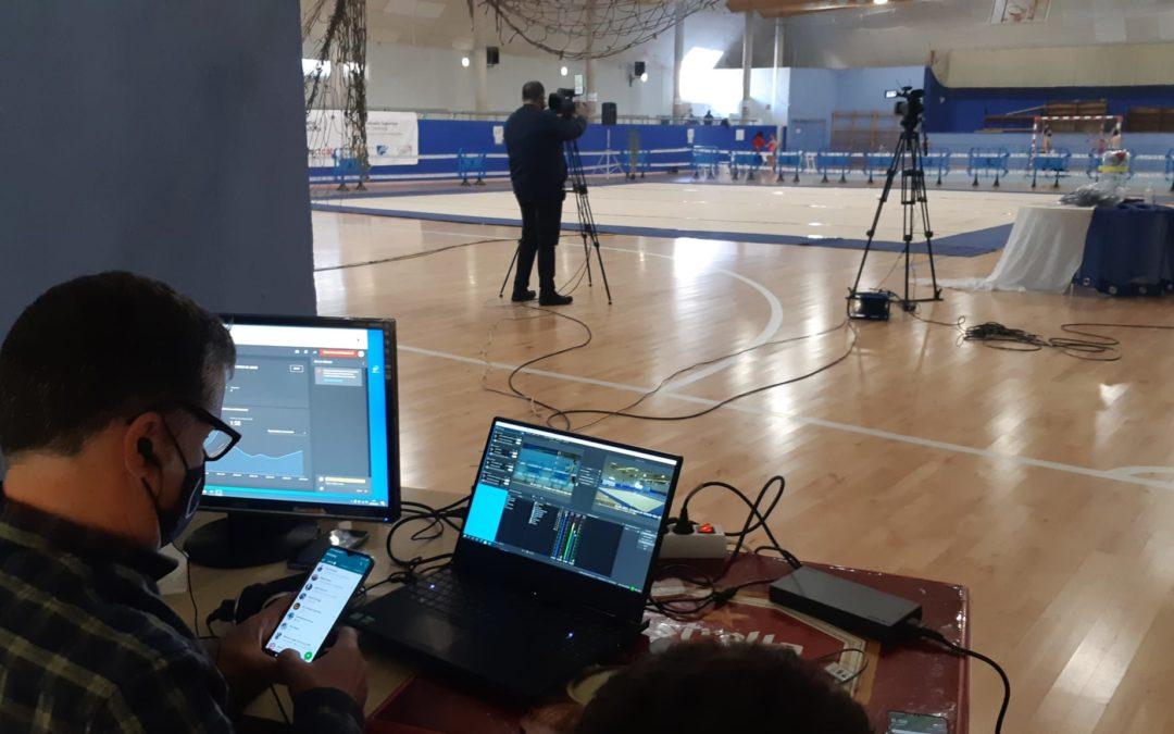 Més de 1.300 visualitzacions a l'streamingdel campionat de gimnàstica rítmica dels jocs esportius escolars de les Terres de l'Ebre
