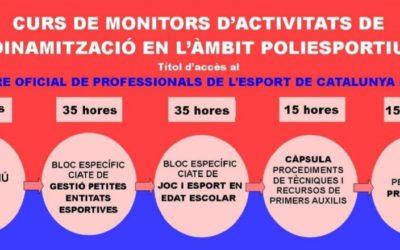 Convocatòria curs de monitor/a per accedir al ROPEC
