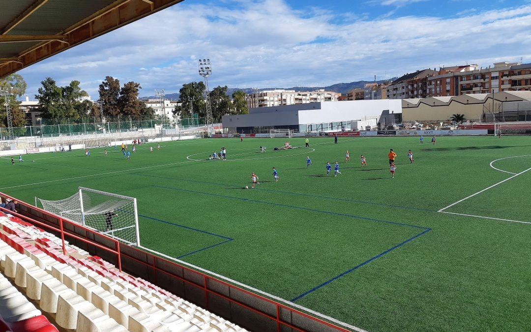 Tortosa escenari dissabte dels partits de la Trobada Territorial de futbol-7 prebenjamí i benjamí dels jocs esportius escolars