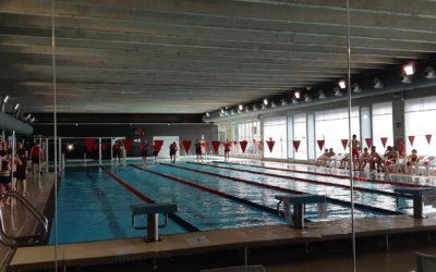 La piscina de l'Ametlla de Mar acull dissabtel'últimajornada de natació dels Jocs Esportius Escolars