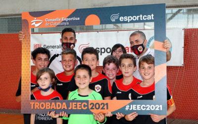 200 famílies arriben a Tortosa per celebrar la primera Trobada dels Jocs Esportius Escolars 2021 de futbol sala