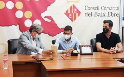 El Consell Esportiu del Baix Ebre se suma a l'homenatge de l'atleta tortosí Yassine Ouhdadi per la medalla d'or aconseguida als Jocs Paralímpics de Tòquio